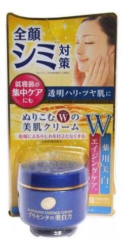 Купить Крем-эссенция для лица с экстрактом плаценты отбеливающий Whitening Essence Cream 55г, Meishoku