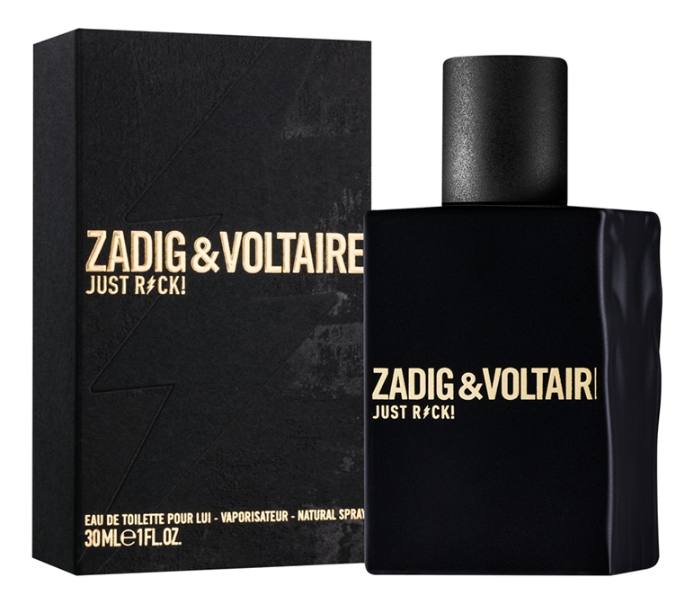 Zadig & Voltaire Just Rock! For Him: туалетная вода 30мл фото