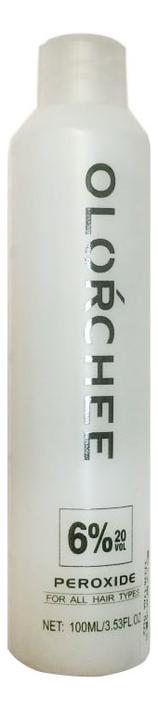 Окислитель для волос Peroxide 100мл: Окислитель 6%
