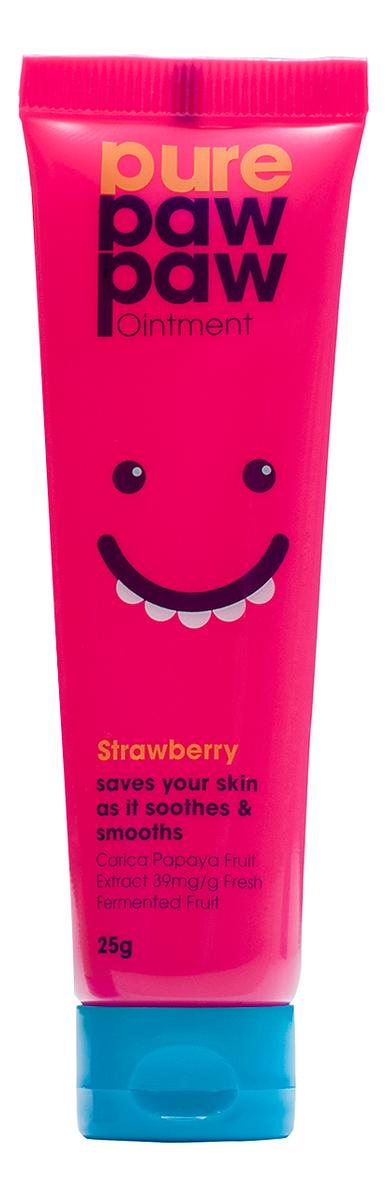 Бальзам для губ и тела с ароматом клубники Strawberry: Бальзам 25мл