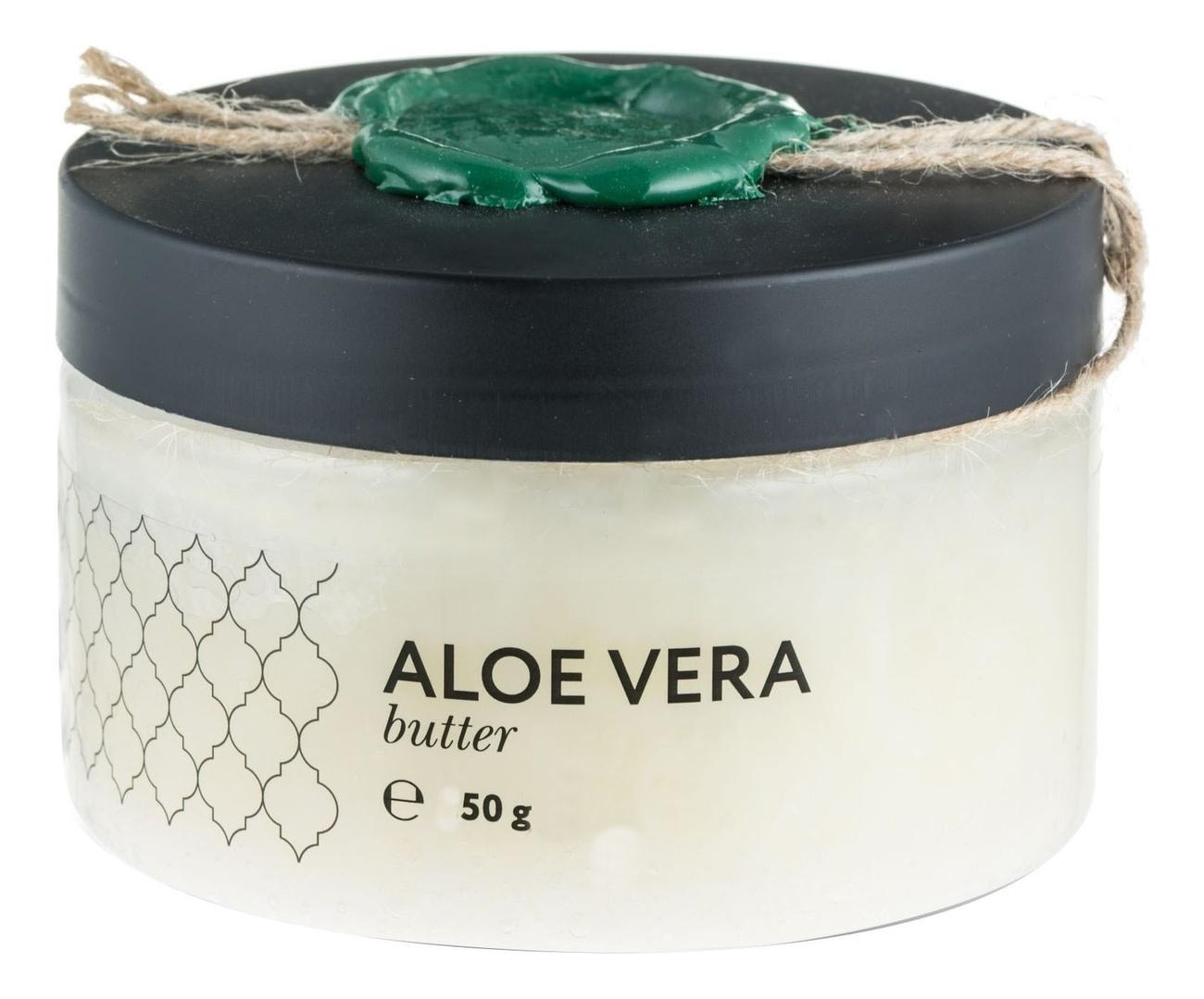 Купить Твердое масло Алоэ вера Aloe Vera Butter: Масло 50г, Huilargan