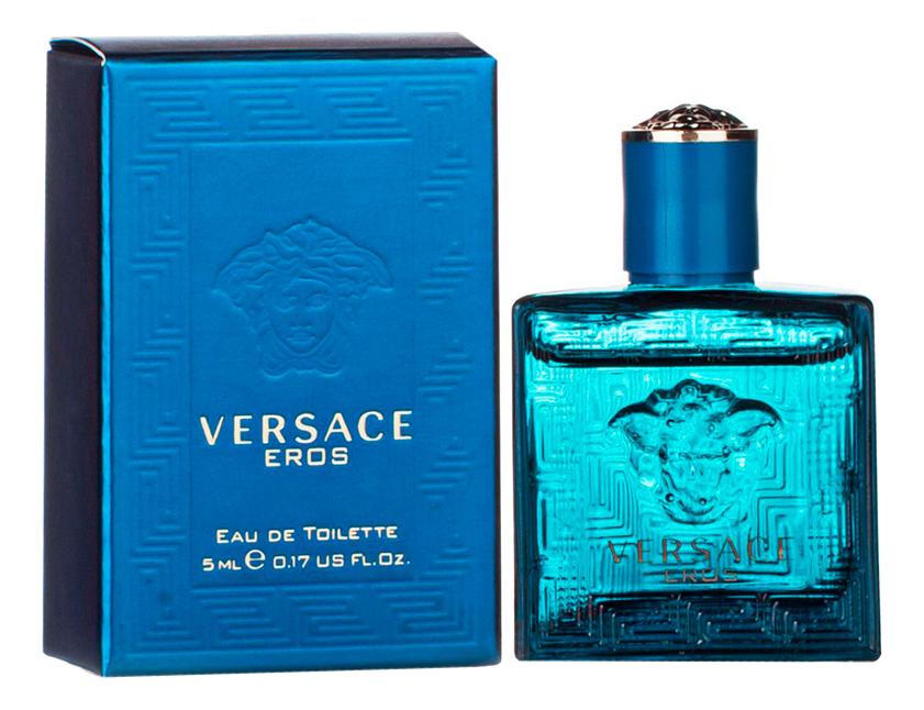 Versace Eros: туалетная вода 5мл туалетная вода versace eros 100 мл мужская
