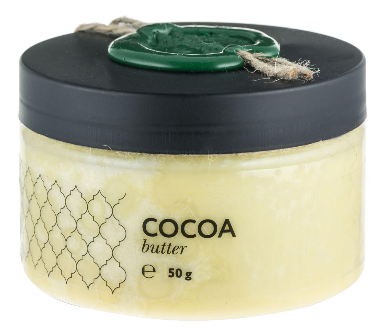Твердое масло Какао Cocoa Butter: Масло 50г