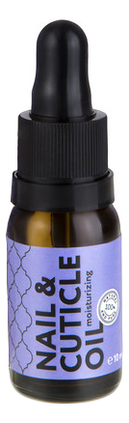 Масло для кутикулы и ногтей увлажняющее Nail & Cuticle Oil Moisturizing 10мл