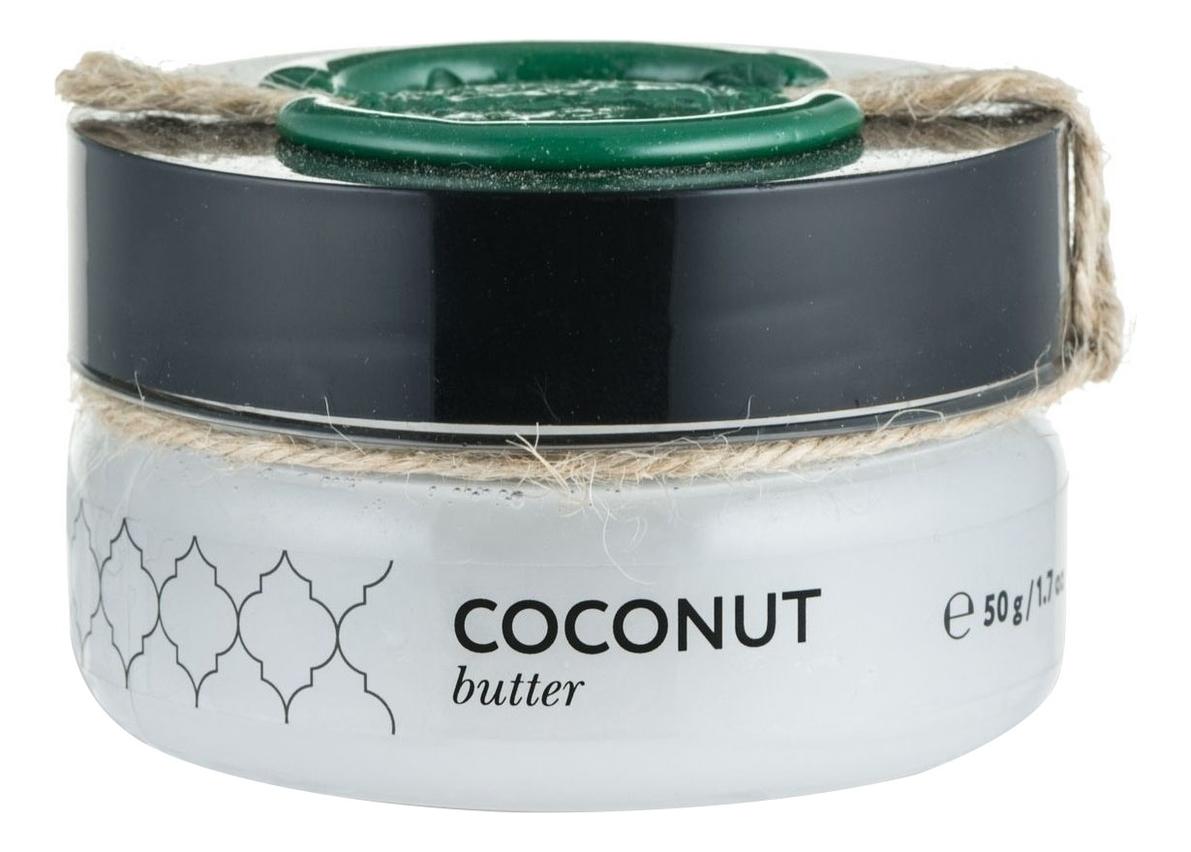 Твердое масло Кокос Coconut Butter: Масло 50г твердое масло для массажа