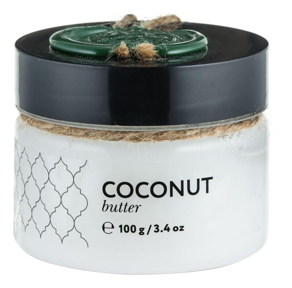 Твердое масло Кокос Coconut Butter: Масло 100г твердое масло для массажа