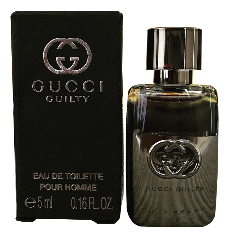 Gucci Guilty Pour Homme: туалетная вода 5мл gucci guilty black pour homme туалетная вода