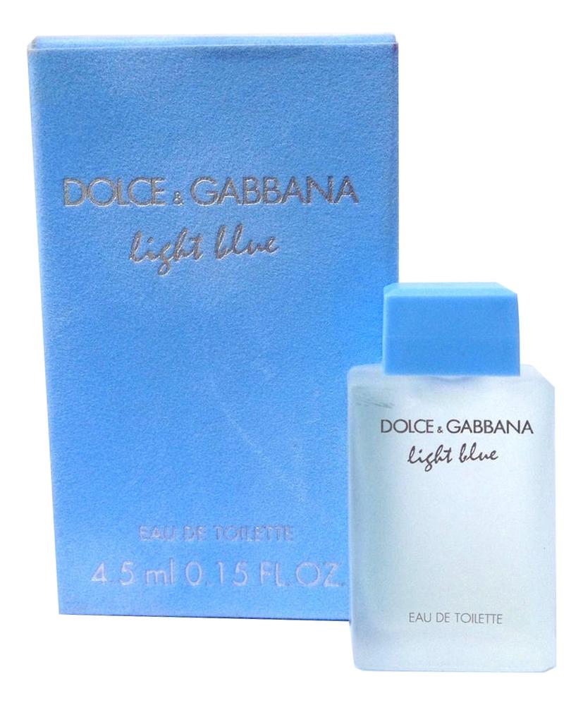 Купить Light Blue: туалетная вода 4.5мл, Dolce & Gabbana
