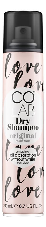 Сухой шампунь для волос прозрачный Original 200мл (цветочный аромат)