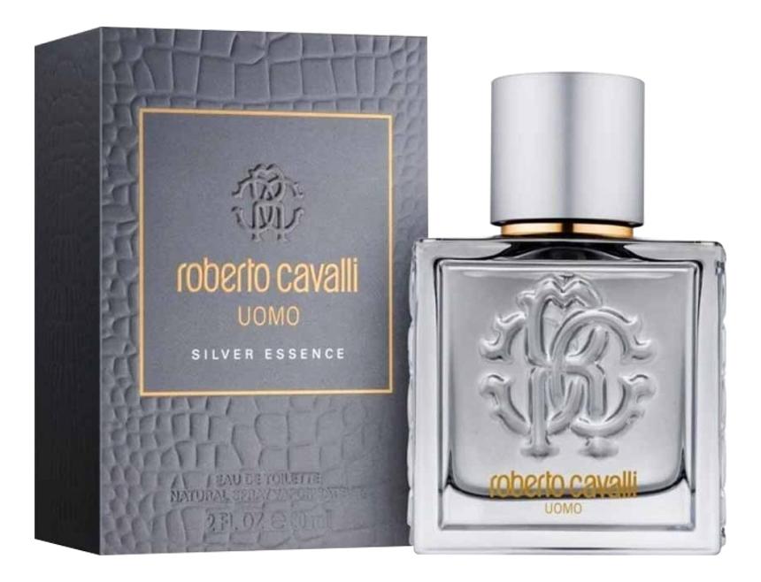 Roberto Cavalli Uomo Silver Essence: туалетная вода 60мл roberto cavalli roberto cavalli uomo м набор туалетная вода 60мл гель для душа 75мл