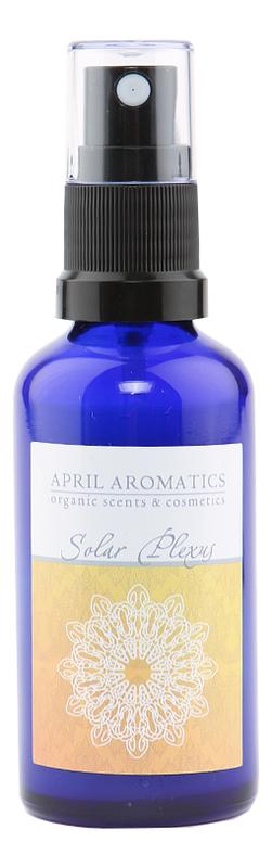 April Aromatics Solar Plexus: спрей для тела 50мл april aromatics bohemian spice парфюмерная вода 30мл