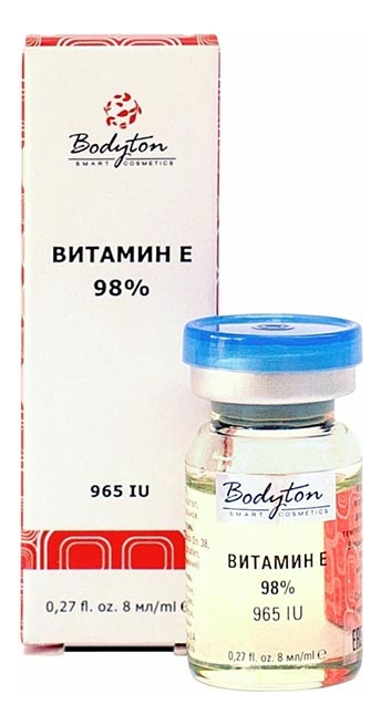 Купить Сыворотка для лица с витамином Е 98% 8мл, Bodyton