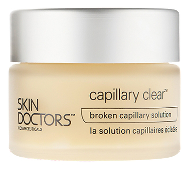 Купить Крем для лица против купероза Capillary Clear 50мл, Skin Doctors