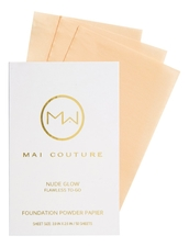 Mai Couture Пудра-салфетка Foundation Powder Papier A La Carte 50шт
