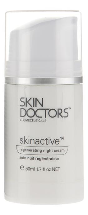 Регенерирующий ночной крем для лица Skinactive14 Regenerating Night Cream 50мл