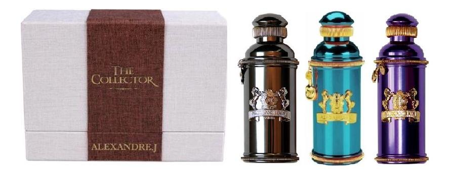 Alexandre J. The Collector: парфюмерная вода 3*30мл (Iris Violet + Mandarine Sultane Argentic)