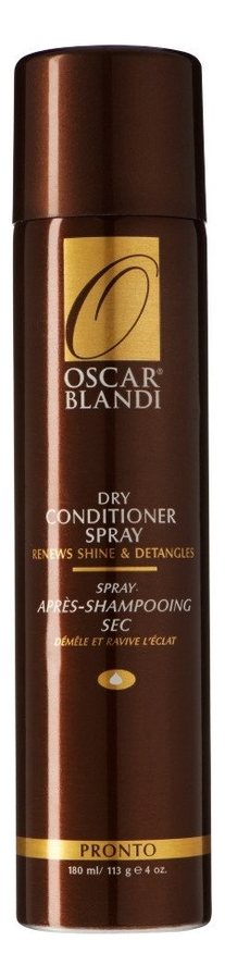 Купить Сухой кондиционер-спрей для волос Pronto Dry Conditioner Spray 180мл, Oscar Blandi