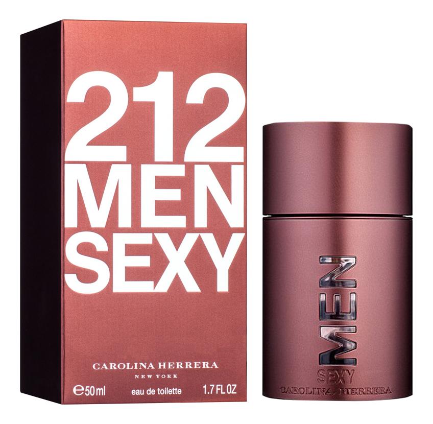 Carolina Herrera 212 Sexy Men: туалетная вода 50мл