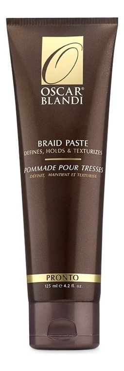 Текстурирующая паста для кос Pronto Braid Paste 125мл цена 2017