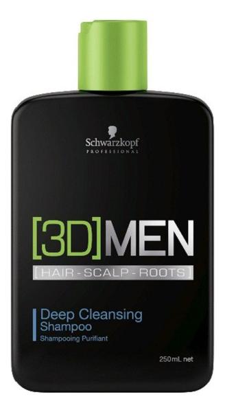 Шампунь для глубокого очищения [3D]Men Deep Cleansing Shampoo: Шампунь 250мл deep cleansing shampoo