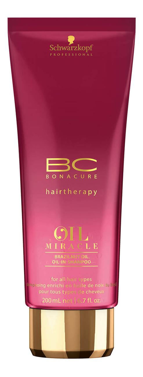 Купить Шампунь для волос BC Oil Miracle Brazilnut Oil-In-Shampoo: Шампунь 200мл, Schwarzkopf Professional