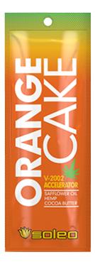 Интенсивный усилитель загара с экстрактом конопли для солярия Basic Orange Cake V-2002 Accelerator: Крем 15мл недорого