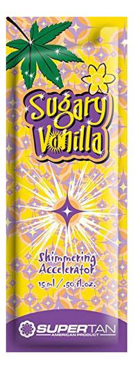 цена на Крем-ускоритель загара в солярии с блеском Сладкая ваниль Sugary Vanilla Shimmering Accelerator: Крем 15мл