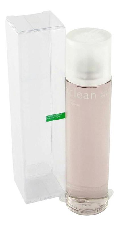 B. Clean Relax: туалетная вода 100мл, Benetton  - Купить