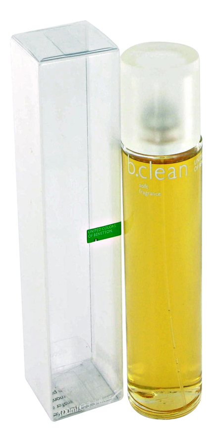 Купить B. Clean Soft: туалетная вода 100мл, Benetton