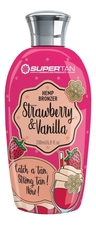 SuperTan Бронзатор для тела с экстрактом конопли Strawberry & Vanilla Hemp Bronzer (клубника и ваниль)