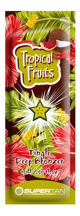 Разогревающий бронзатор с тингл-эффектом Tropical Fruits Tingle Deep Bronzer (тропические фрукты): Бронзатор 15мл engrained engrained deep rooted