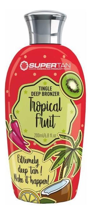 Разогревающий бронзатор с тингл-эффектом Tropical Fruits Tingle Deep Bronzer (тропические фрукты): Бронзатор 200мл