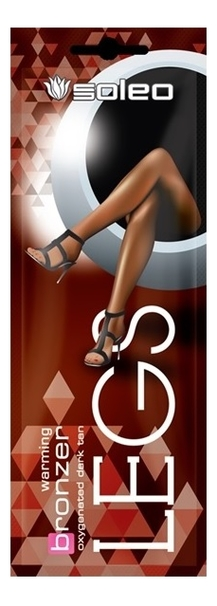 Бронзатор для слабозагарающей кожи ног с разогревающим эффектом Legs Warming Bronzer : крем 10мл tannymaxx крем ускоритель для загара ног tres jolie brilliant legs bronzer с бронзатором двойного действия со slimming эффектом 15 мл