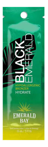 Гипоаллергенный бронзатор для всех типов кожи Black Emerald Hypoallergenic Bronzer Hydrate: Бронзатор 15мл