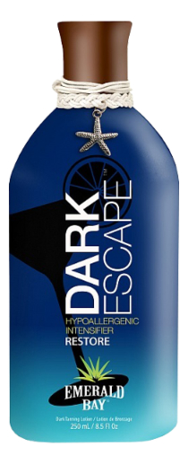 Гипоаллергенный крем для загара в солярии Dark Escape Hypoallergenic Intensifier Restore: Крем 250мл