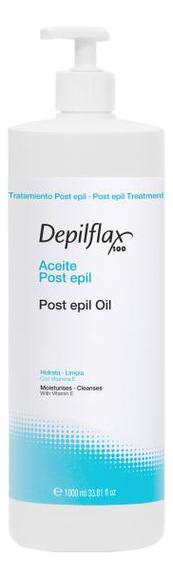 Купить Успокаивающее масло с розмарином для удаления остатка воска Post Epil Oil : Масло 1000мл, Depilflax