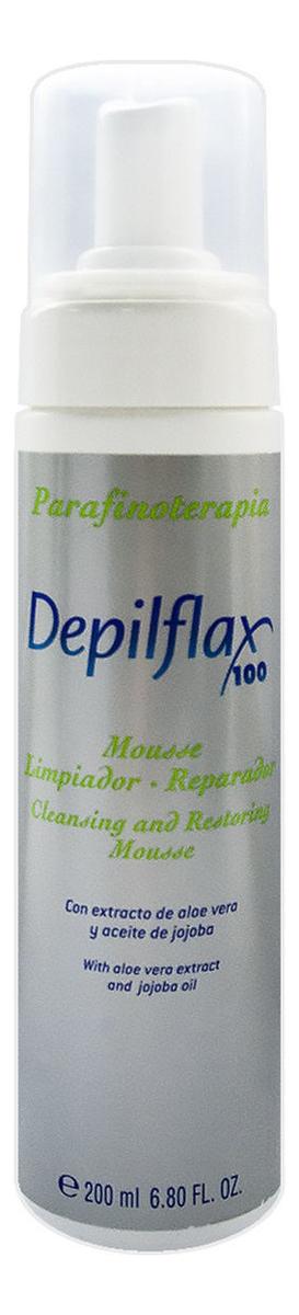Мусс для очищения и восстановления поврежденной кожи Cleansing And Restoring Mousse 200мл