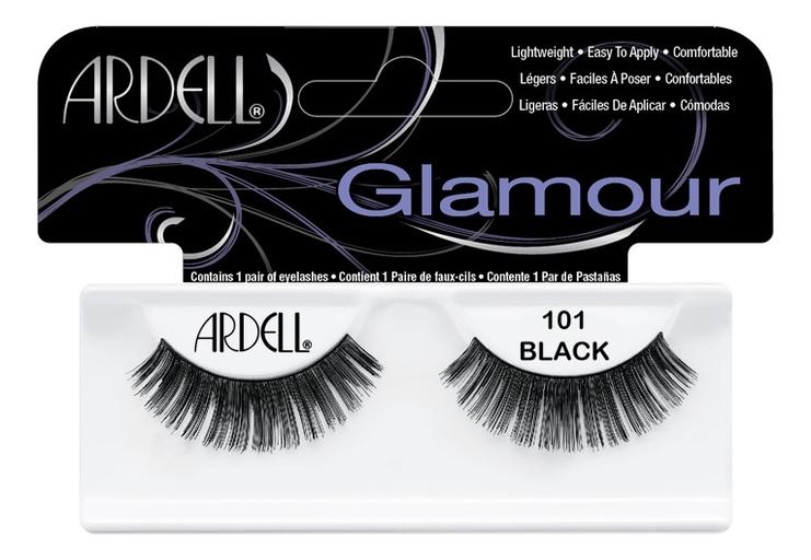Накладные ресницы Glamour Lashes: No 101 nyx professional makeup накладные ресницы wicked lashes bashful 08
