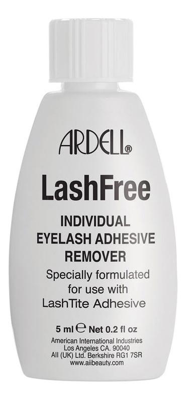 Средство для удаления клея Lash Free Individual Eyelash Adhesive Remover: 5мл