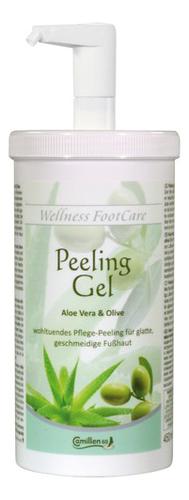 Фото - Пилинг-гель для ног с экстрактом алоэ вера и оливы Wellness FootCare Peeling Gel Aloe Vera & Olive: Пилинг-гель 500мл пилинг гель для лица с экстрактом клубники peeling gel 30мл