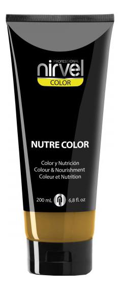 Купить Гель-маска для окрашивания волос Nutre Color 200мл: Golden, Nirvel Professional
