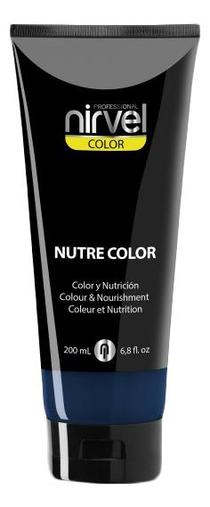 Купить Гель-маска для окрашивания волос Nutre Color 200мл: Blue, Nirvel Professional