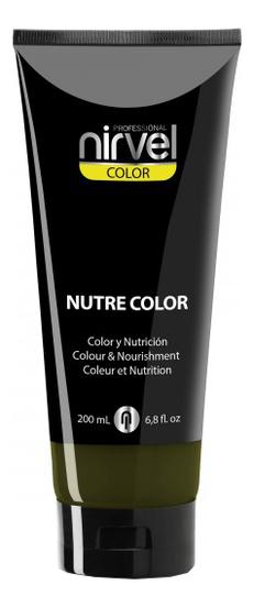 Купить Гель-маска для окрашивания волос Nutre Color 200мл: Green, Nirvel Professional