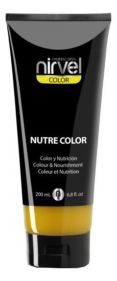 Купить Гель-маска для окрашивания волос Nutre Color 200мл: Yellow, Nirvel Professional