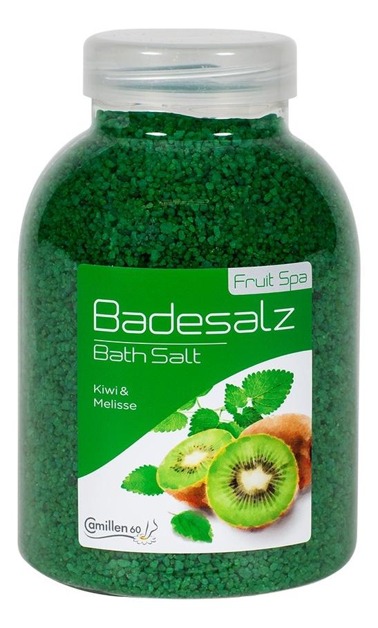Соль для ножных ванн расслабляющая Киви и мелисса Badesalz Kiwi-Melisse: Соль 1350г соль для ножных ванн расслабляющая киви и мелисса badesalz kiwi melisse соль 1350г