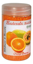 Camillen 60 Соль для ножных ванн восстанавливающая Апельсин и Папайя Badesalz Orange-Papaya