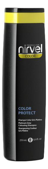 Фото - Оттеночный шампунь для поддержания цвета Color Protect Shampoo 250мл: Grey оттеночный шампунь для поддержания цвета color protect shampoo 250мл copper