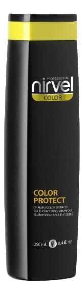 Фото - Оттеночный шампунь для поддержания цвета Color Protect Shampoo 250мл: Gold оттеночный шампунь для поддержания цвета color protect shampoo 250мл copper