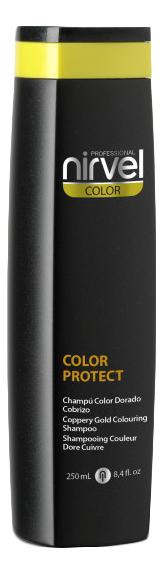 Оттеночный шампунь для поддержания цвета Color Protect Shampoo 250мл: Gold-Copper фото