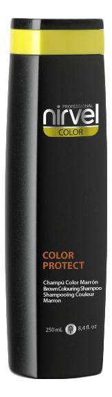 Оттеночный шампунь для поддержания цвета Color Protect Shampoo 250мл: Brown